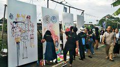 แอ่วลำปางม่วนใจ๋ กับงาน ถนนศิลปะ ลานเด็กยิ้ม ริมแม่น้ำวัง