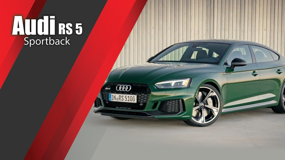 The new Audi RS 5 Sportback | Design Preview