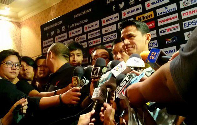 ซิโก้ ให้สัมภาษณ์ งานแถลงข่าว AFF Suzuki Cup 2016 รอบชิงชนะเลิศ