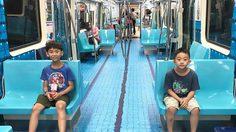 ไต้หวัน เปลี่ยนรถไฟใต้ดินเป็นสนามกีฬาสุดครีเอท!