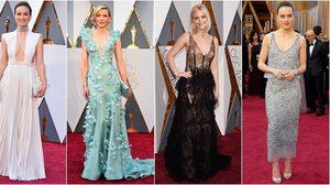 ไม่มีคำว่าเบา! แฟชั่นพรมแดง Oscar ครั้งที่ 88 จัดหนัก จัดเต็ม !