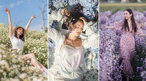 ปักหมุดที่เที่ยวใหม่! ตามรอยคนบันเทิง เที่ยว ทุ่งดอกไม้ I love flower Farm จ.เชียงใหม่