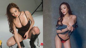 แอบดู น้องอากี้ ดีเจสาวแสนสวย กับแฟชั่นใน RUSH Magazine