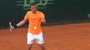 เปาโล มัลดินี่ ประเดิมเทนนิสอาชีพตกรอบแรก ศึกระดับชาเลนเจอร์ที่มิลาน