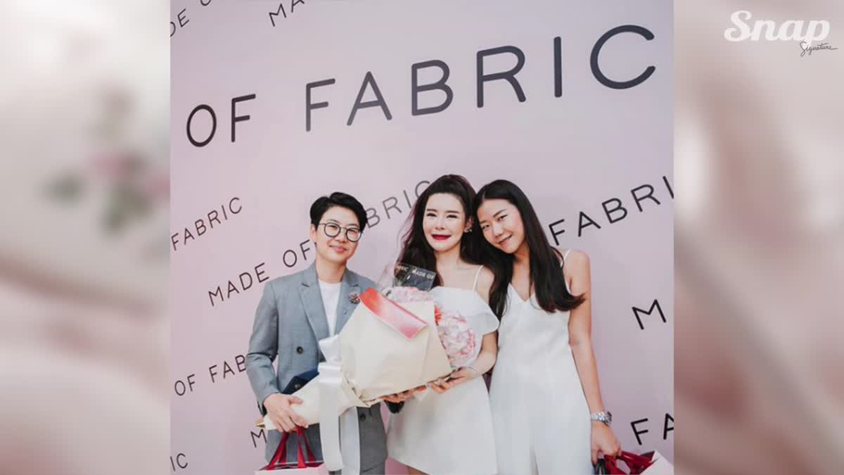 งานเปิดตัวแบรนด์ สวยหวานราวกับเทพนิยาย Made of Fabric A/W 2017