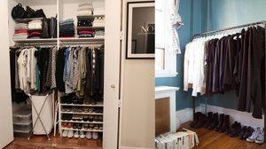 19 ไอเดีย จัดตู้เสื้อผ้า ตามนี้ รับรองไม่ล้นตู้