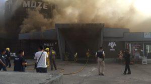 ระทึก! ไฟไหม้ผับดังกลางเมืองพัทยา ยังคุมเพลิงไม่ได้