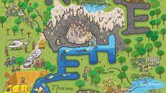 ภาพการ์ตูนทีมหมูป่า