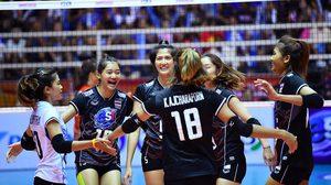 ตามเป้า! ทีมตบลูกยางสาวไทย อัด โสมแดง 3 เซตรวด ซิวตั๋วชิงแชมป์โลกปีหน้า