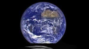 งดงาม! นาซา เผยภาพ 'โลก' มองจาก 'ดาวจันทร์'