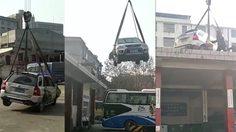 โดนเข้าให้!! พวกจอด รถยนต์ มักง่ายในประเทศจีน โดยแก้เผ็ดแบบเจ็บแสบอีกครั้ง