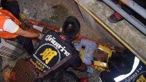 หนุ่มชาวกัมพูชาน้อย ใจคู่ขาชาวแอฟริกาใต้ โดดห้องพักสูง 6 ชั้น อาการโคม่า