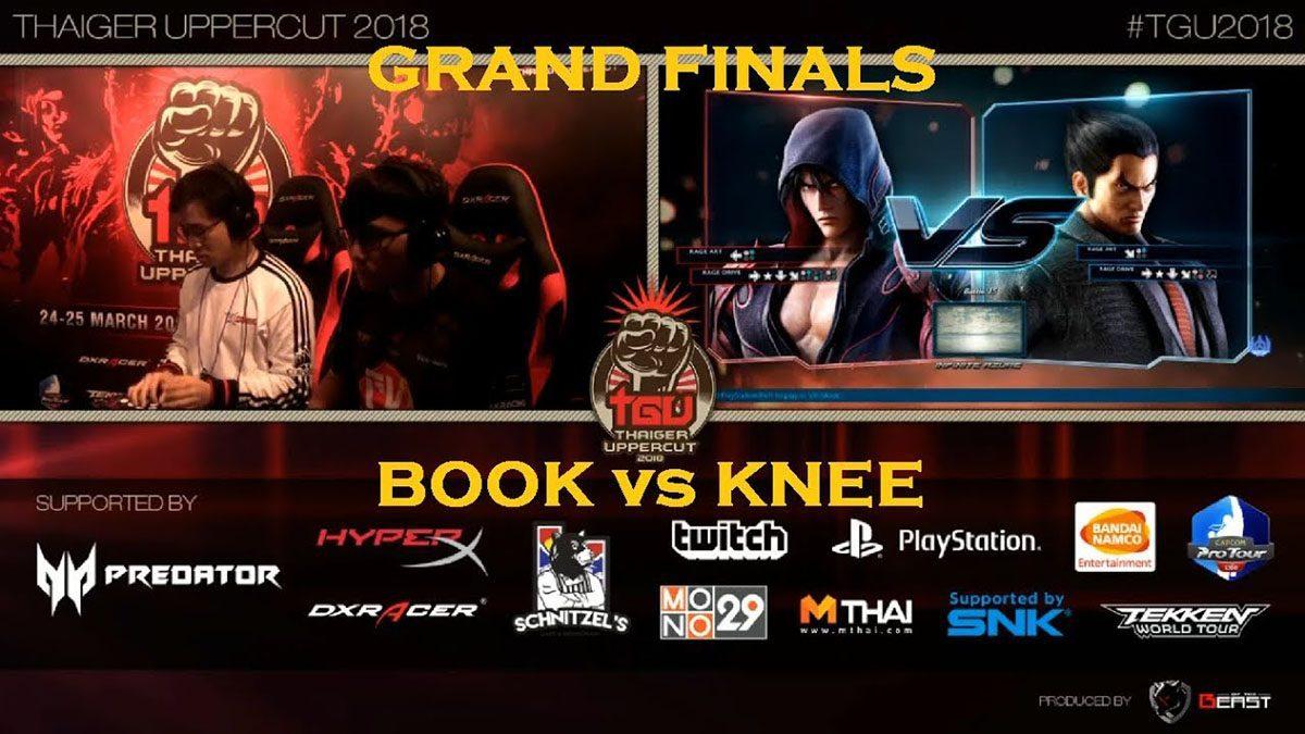 [TGU 2018] TEKKEN 7 Grand Final Book VS Knee