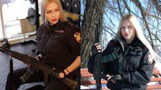สวยสังหาร Anna Khramtsova ทหารหญิงของปูติน ที่สวยที่สุดในรัสเซีย