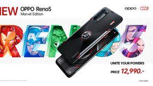 OPPO จับมือร่วมกับ Marvel ประกาศเปิดตัว OPPO Reno5 Marvel Edition สุดยอดสมาร์ทโฟนสำหรับแฟนๆ Marvel