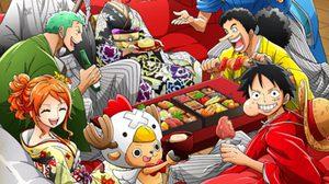 One Piece Osechi สำรับอาหารฉลองปีใหม่ชุดพิเศษจากกลุ่มหมวกฟาง