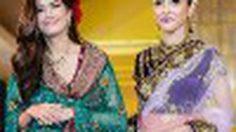 พิ้งกี้ สาวิกา VS ปู ไปรยา สองสาว ตาคม ประชันสวย ชุดส่าหรี
