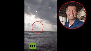 เครื่องบินรบสเปน ดิ่งทะเลขณะฝึก นักบินดีดตัวออกทัน แต่ไม่รอด