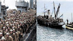 ชุดภาพสีจากเหตุการณ์จริง จากปฎิบัติการอพยพทหารที่ Dunkirk ช่วงสงครามโลกครั้งที่ 2