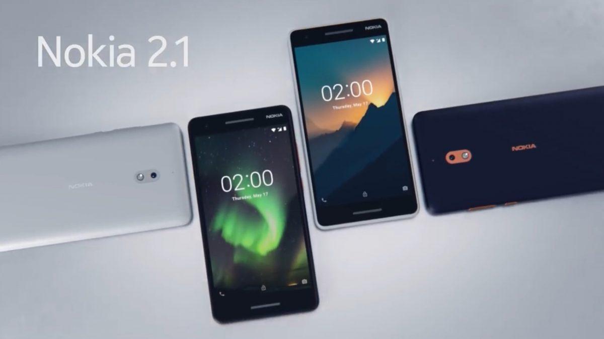new Nokia 2.1 สมาร์ทโฟนราคาเบาๆ กับแบตเตอรี่สุดอึด 4,000mAh