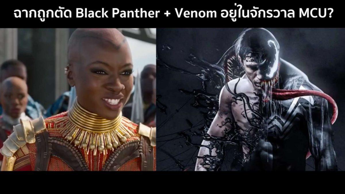 คุยข่าวหนัง ฉากถูกตัด Black Panther และ Venom ใน MCU