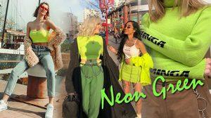 Neon Green ปาร์ตี้ส่งท้ายปี สีเขียวนีออน เทรนด์สีเจ็บกำลังมาแรง