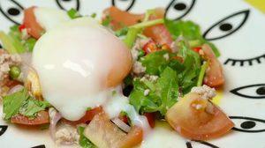 วิธีทำ ยำไข่ออนเซ็น เมนูแซ่บๆ ทำง่าย อร่อย