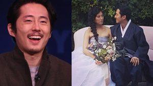 ลั่นระฆัง! สตีเวน ยวน The Walking Dead แต่งแฟนสาวนอกวงการ!