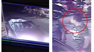 จับได้แล้ว หนุ่มขับเบนซ์ขาโหด เตะ รปภ. โรงแรมสลบ