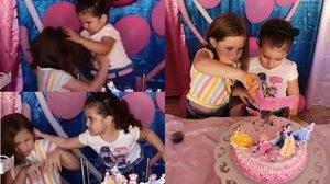 คลิปแย่งเป่าเทียนวันเกิด ที่โด่งดัง จนสองพี่น้อง Maria กลายเป็นมีมแห่งปีไปแล้ว