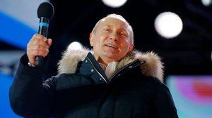 คะแนนถล่ม! ปูติน ผงาดคว้าชัยเลือกตั้งประธานาธิบดีรัสเซีย  นั่งทำหน้าที่อีกสมัย
