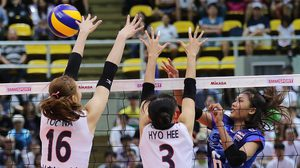 โสมแรงท้ายเกม! เกาหลีใต้ พลิกแซง ทีมชาติไทย 3-2 เกม ศึกวอลเลย์บอลนัดพิเศษ