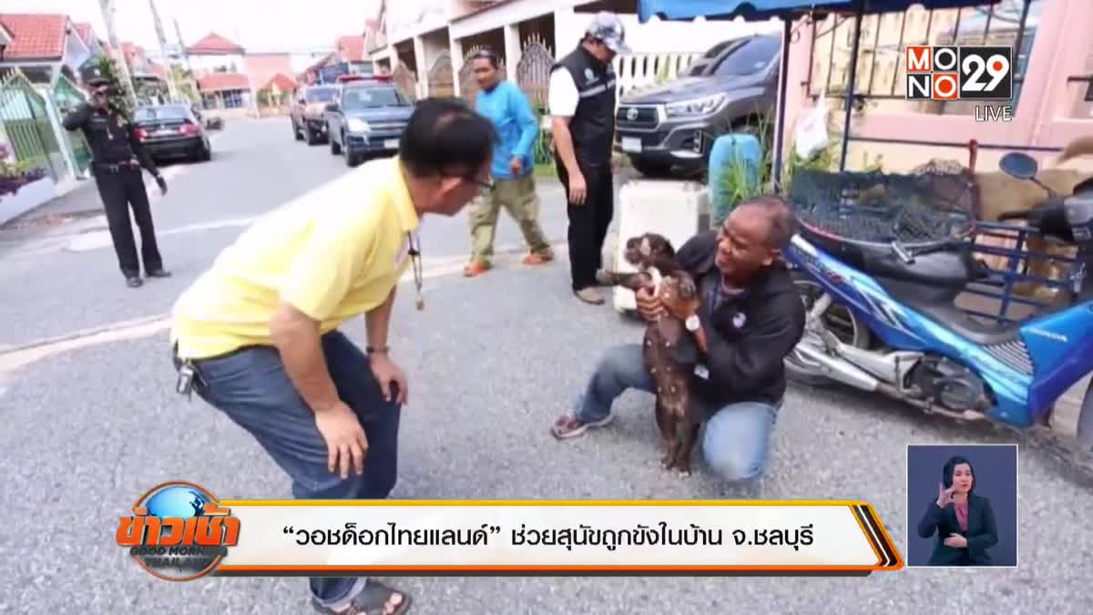 """""""วอชด็อกไทยแลนด์"""" ช่วยสุนัขถูกขังในบ้านจ.ชลบุรี"""