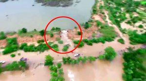 ลพบุรี อ่างเก็บน้ำแตก ทำน้ำไหลทะลักท่วมหลายอำเภอ
