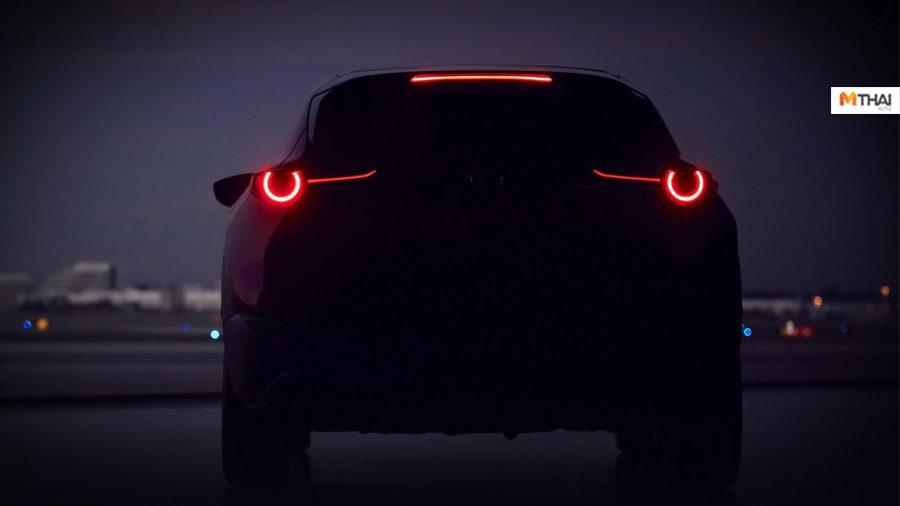 เปิดภาพ Teaser แรกของ Mazda CX-3 2020 ก่อนเปิดตัวที่ Geneva Motor Show
