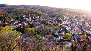 ใบไม้เปลี่ยนสี เยือนเยอรมนี ที่เควดลินบวร์ก Quedlinburg ฤดูใบไม้ร่วง