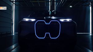 BMW ปล่อยทีเซอร์ Vision iNext Concept เผยให้เห็นด้านหน้าแบบใหม่