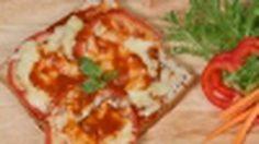 พิซซ่าขนมปังมังสวิรัติ จากหม้อหุงข้าว!!