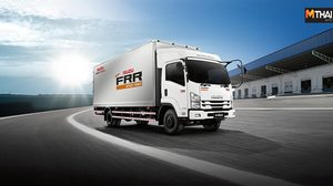 Isuzu เปิดตัว FRR ใหม่ เจ้าแห่งรถบรรทุก 6 ล้อขนาดกลาง ด้วยราคาเริ่มต้น 1.4 ล้านบาท