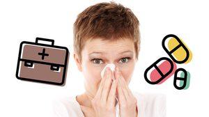 วิธีแก้หวัดด้วยตนเอง ยังไม่ต้องไปหาหมอ - วิธีดูแลสุขภาพเบื้องต้น