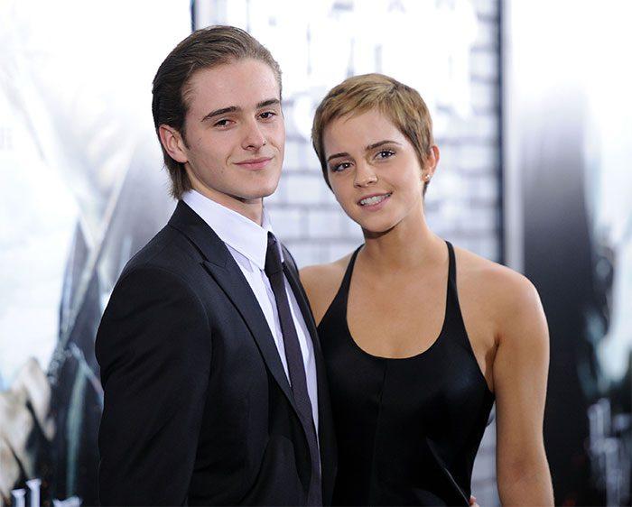 Emma Watson กับน้องชาย Alex