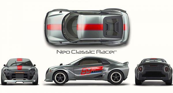 Honda S660 Nero Classic Racer