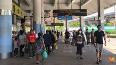 ประชาชนทยอยเดินทางกลับเข้า กทม. ต่อเนื่อง หลังหยุดยาวปีใหม่ 2562