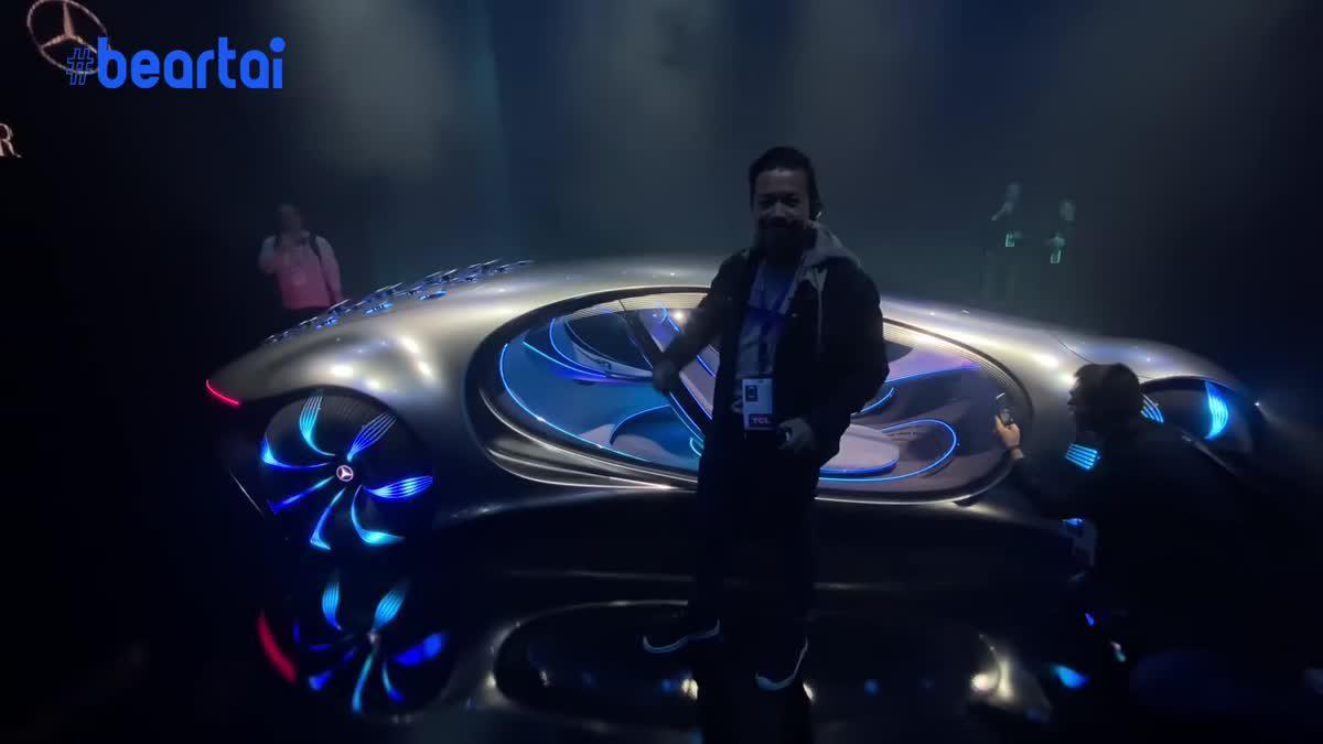 รถเบนซ์มีชีวิต! VISION-AVATAR รถสุดล้ำจาก CES 2020
