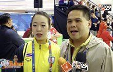 2 เจ้าหญิงน้ำแข็งไทย กำลังใจดี แม้ชวดเหรียญอย่างน่าเสียดาย
