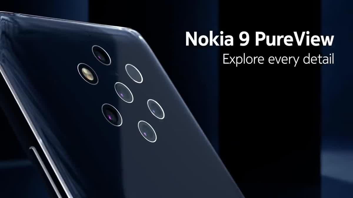 Nokia 9 PureView  สมาร์ทโฟนกล้องหลัง 5 ตัว เครื่องแรกของโลก