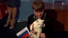 'อคิลลิส' แมวทำนายผลบอลโลก นัดเปิดสนามเลือก รัสเซียชนะซาอุฯ