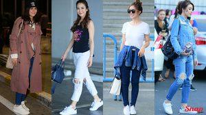 ความเรียบที่ไม่ธรรมดา รองเท้าผ้าใบสีขาว แมทช์กับลุคไหนก็ดี ไม่มีไม่ได้แล้ว!!!