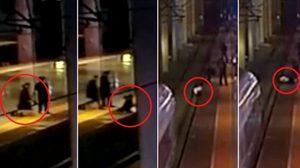 เกือบตาย!! สาวจีนกระโดดลงไปบน รางรถไฟ เพราะอยากประชดแฟนหนุ่ม