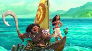 Maui โชว์พาวให้ผู้หญิงดูในคลิปตัวอย่าง Moana แอนิเมชั่นเรื่องล่าสุดจากดิสนีย์